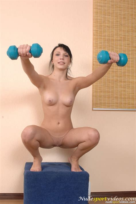 Mins Of Sexy Nude Sport Balancing With A Y O Amateur Gymnast Girl