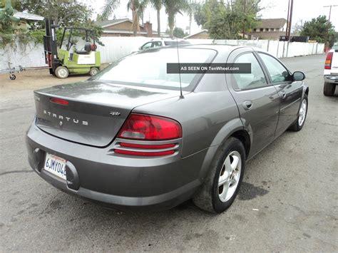 2004 Dodge Stratus Sxt Coupe 2 Door 2 4l