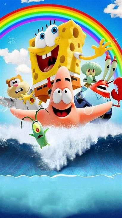 Spongebob Bob Sponge Esponja Water Wallpapers Phone