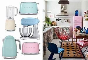 Cuisine Style Année 50 : frigo archives color pastello ~ Premium-room.com Idées de Décoration