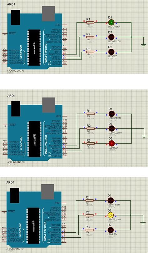 an interactive traffic lights using arduino traffic signal using arduino the engineering 44534