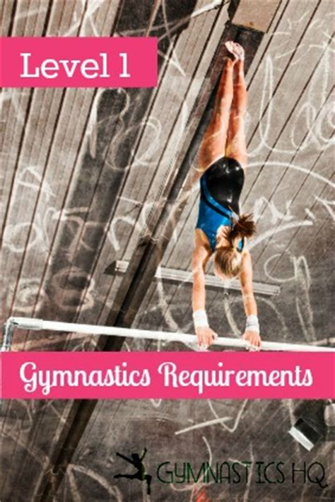 usag level 4 floor routine requirements level 1 gymnastics requirements