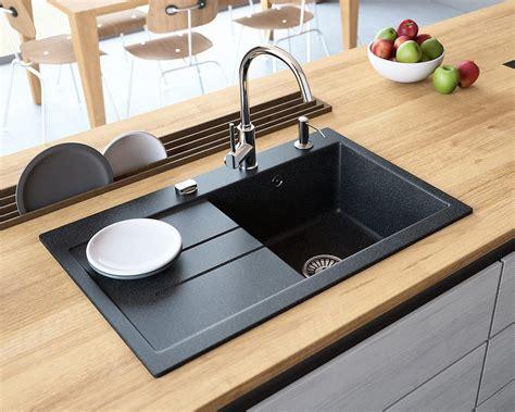 granite kitchen sinks uk granite sink luxor 1 0 lavello sinks 3895