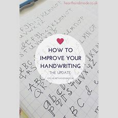 198 Best Handwriting Images On Pinterest  Gym, Colleges And Students