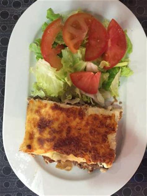 cours cuisine villefranche sur saone moussaka grecque picture of restaurant anatolie