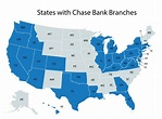 Chase Bank Locations Map | Map Of The World
