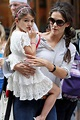 Katie Holmes and Suri Leave the MoMA in NYC - Zimbio