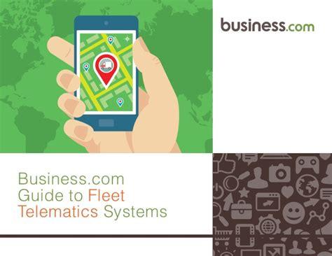 fleet telematics systems  businesscom guide
