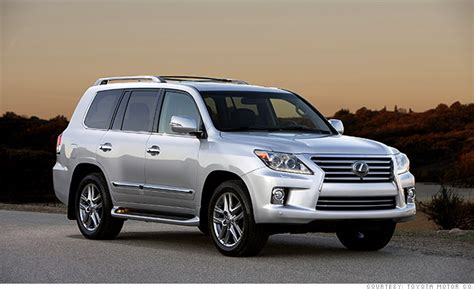 luxury full size suv lexus lx  resale  cars