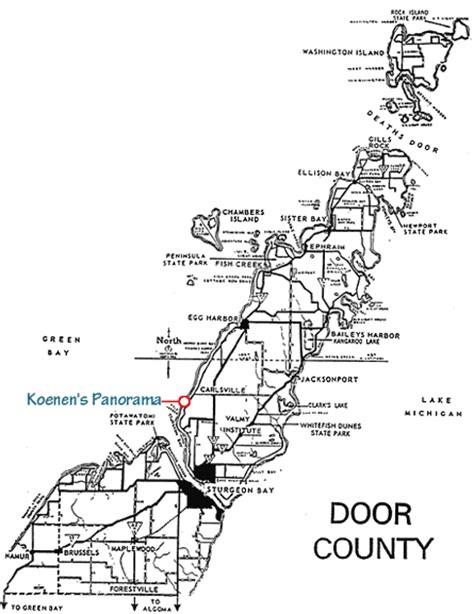 map of door county wi door county summer rental