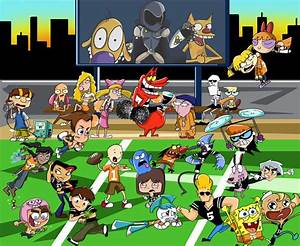Cartoon Network U0026quotvsu0026quot Nickelodeon Football Edition