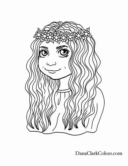 Coloring Pages African Hair American Hairstyles Sheets