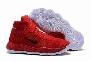 Nike Hyperdunk 2017 Flyknit University Red/Reflect Silver ...