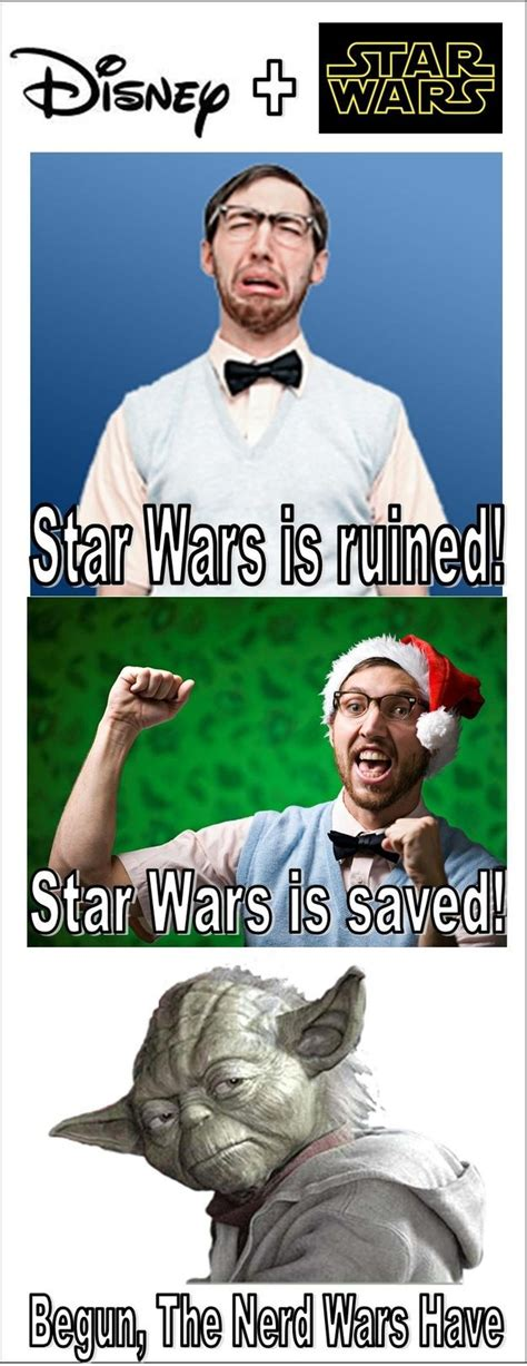 Star Wars Disney Meme - 15 best star wars disney merger memes disney the nerds
