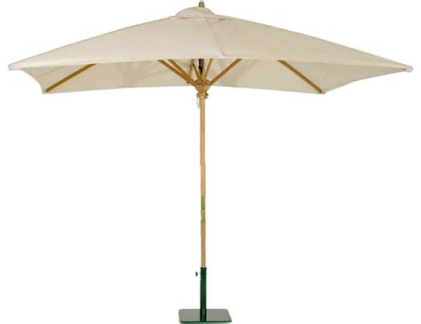 teak rectangular umbrella tropical outdoor umbrellas