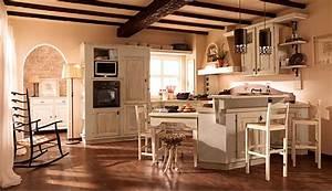 cucina legno chiaro effetto decapato arredamento shabby kitchen in 2019 country kitchen With arredamento shabby salerno