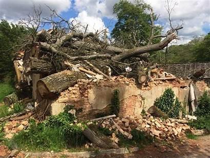 Storm Barn Damaged Damage Center