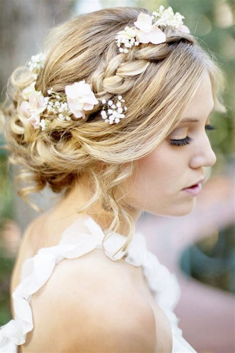 braided crowns hairstyles for the summer bride arabia