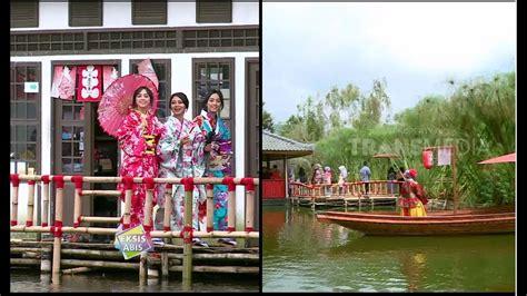 wisata ala jepang  kyotoku floating market lembang