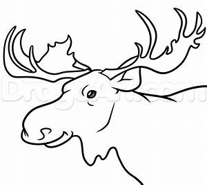 How To Draw A Kids Moose ClipArt Best