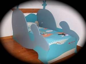 Lit Garçon Original : lit baleine pour enfant gar on original et cologique chambre d 39 enfant de b b par lolistel ~ Preciouscoupons.com Idées de Décoration
