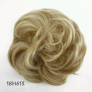 Secure the bun with another hair tie. Curly Messy Synthetic Hair Bun-High Quality-Messy Bun   Etsy