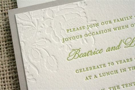 Th Wedding  Ee  Anniversary Ee   Invitations