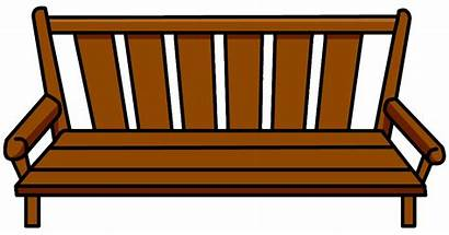 Bench Wood Clipart Furniture Icon Clip Club