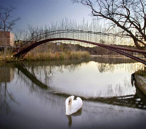 pedestrian bridge miro rivera architects archello