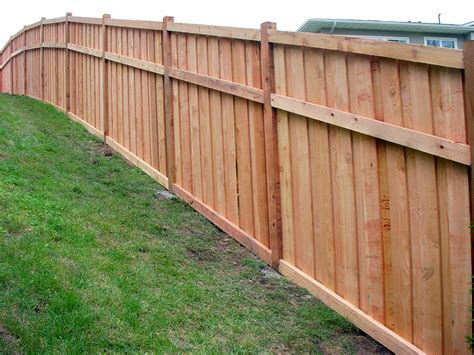 how to build a fence how to build a privacy fence with your own hands
