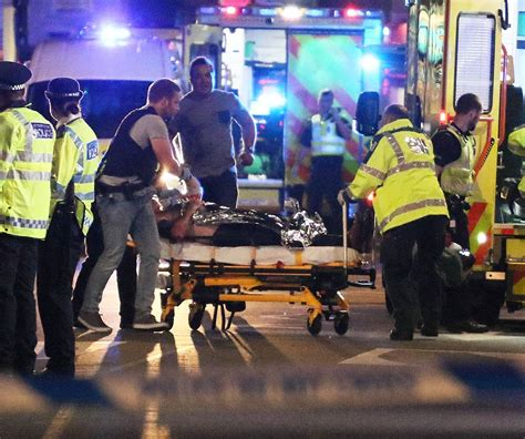 borough market stabbing moment london bridge jihadis were shot dead by police