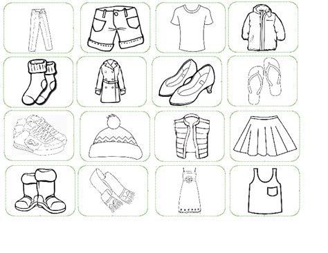 clothes worksheet busy breadandhearth