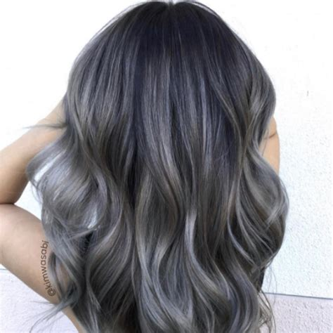 charcoal hair color popsugar beauty
