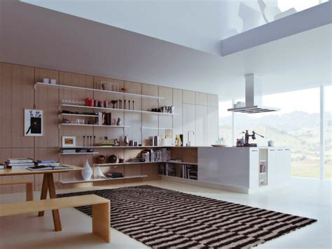 separation cuisine salle a manger meuble séparation cuisine salon en 55 idées