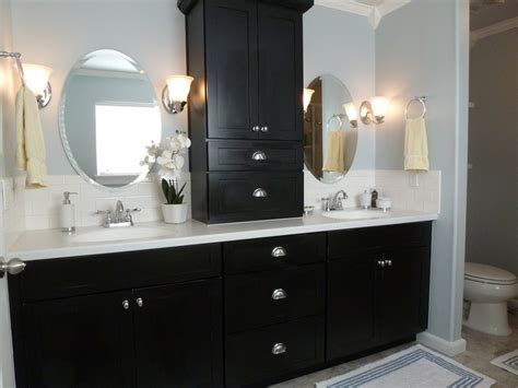 Black Cabinets Bathroom by How To Design A Luxury Bathroom With Black Cabinets