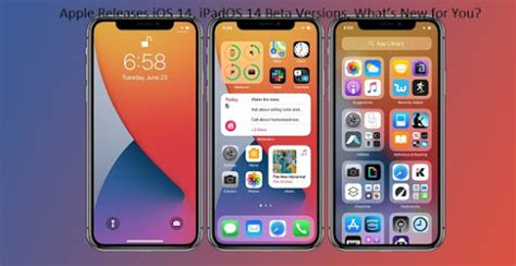 Apple Releases iOS 14, iPadOS 14 Beta Versions, What's New ...