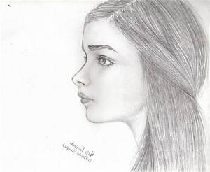 Image Result For Half Face Drawing
