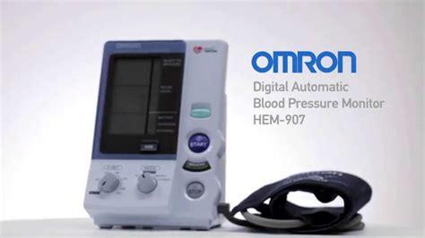 Omron Digital Automatic Blood Pressure Monitor HEM-907