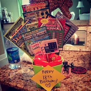 18th birthday gift! #scratchoffs | Parties & Gift ideas ...