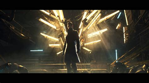 Deus Ex Animated Wallpaper - l humain augment 233 veille