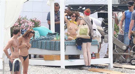 Dakota Johnson Topless On Fifty Shades Darker 6 New Pics