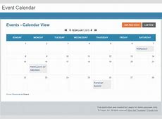 Free App Online Event Calendar for Any Website Caspio Blog