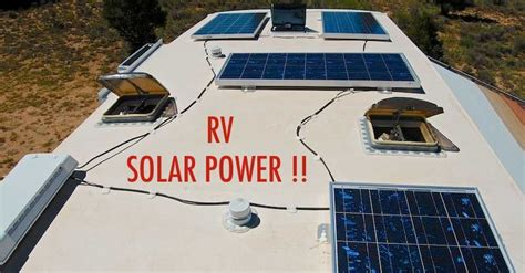 confused  rv solar power  easy overview explains