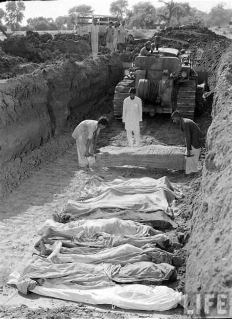 shocking  rare images  indian partition