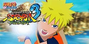 Naruto Ultimate NS 3 Full Burst A Nova Verso Do Jogo