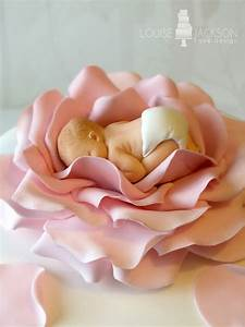 Baby in Rose - Girl - Louise Jackson Cake Design