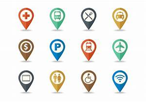 Free Map Legend And Sign Icon Set Vector Download Free
