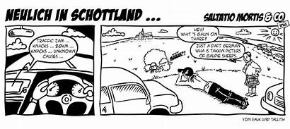 Strip Comic Schottland Saltatio Mortis Neulich Mic