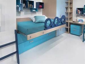 Lit Enfant Mi Haut : chambre enfant dearkids avec lit mi haut ~ Premium-room.com Idées de Décoration