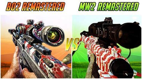 bo remastered  mw remastered chaos youtube